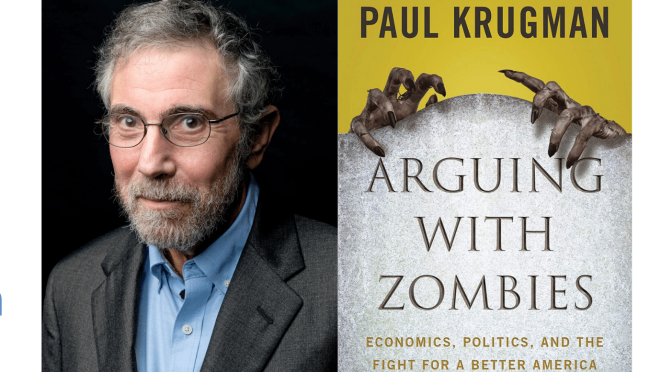 Podcast Interviews: 66-Year Old Economist And Writer Paul Krugman On American Societal Issues
