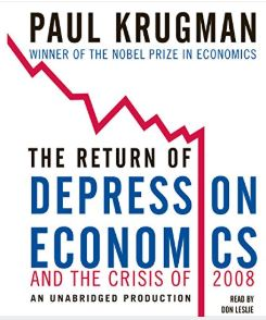 Paul Krugman The Return of Depression Economics