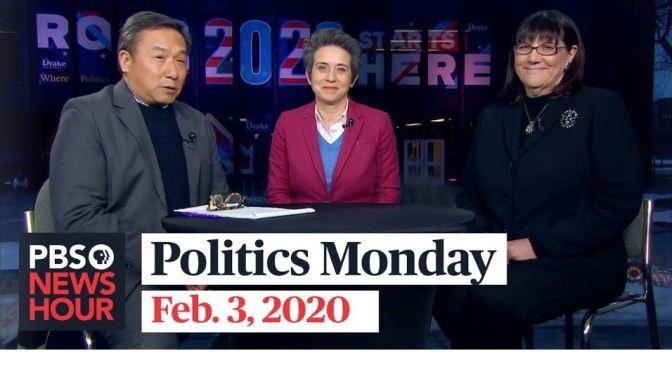 PBS Politics Monday: Amy Walter, O. Kay Henderson & John Yang – Iowa Caucus