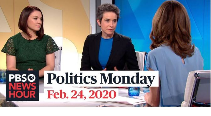 Political News: Tamara Keith And Amy Walter On The Nevada Caucus (PBS)