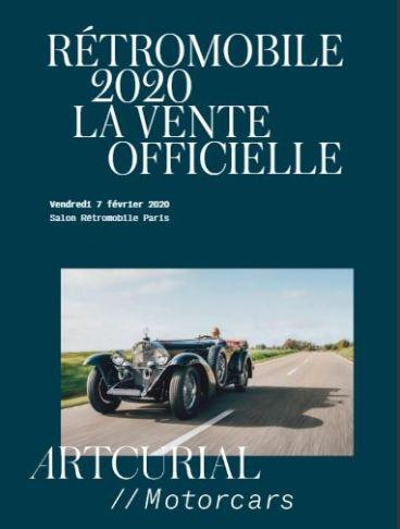 Rétromobile 2020 February 5 -9 Official Program Paris