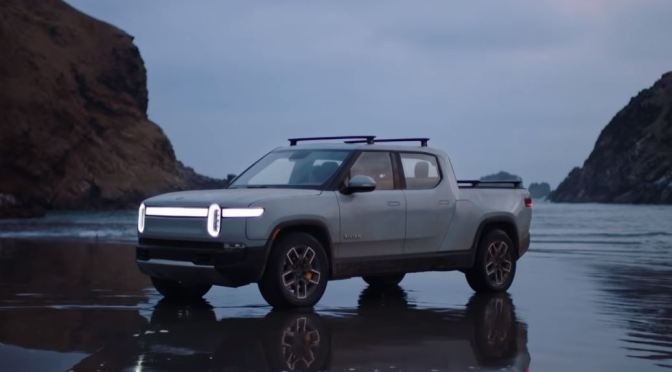 "Future Of Driving: Behind The Scenes Look At ""Rivian Electric Trucks"" (Video)"