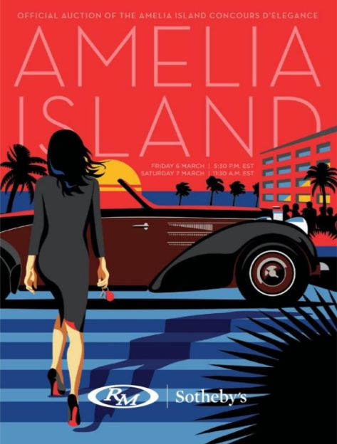 RM Sotheby's Amelia Island March 6 - 7 2020 Catalog Cover