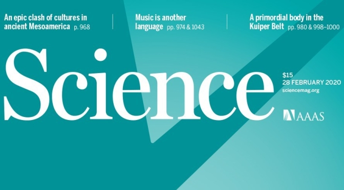 "Journals: ""Research Highlights"" From Science Magazine (Feb 28, 2020)"