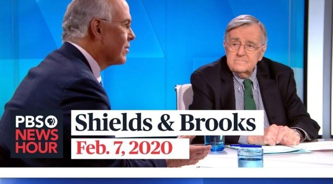 Politics: Mark Shields & David Brooks On The Week In Washington (PBS Video)