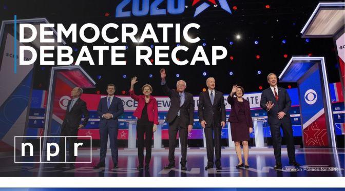 """Politics: """"South Carolina Democratic Debate Recap"""""""