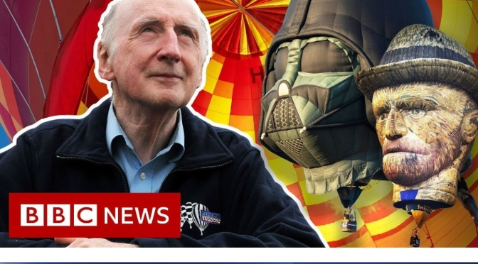 Video Profiles: 80-Year Old Scotsman Don Cameron, Hot Air Balloon Pioneer
