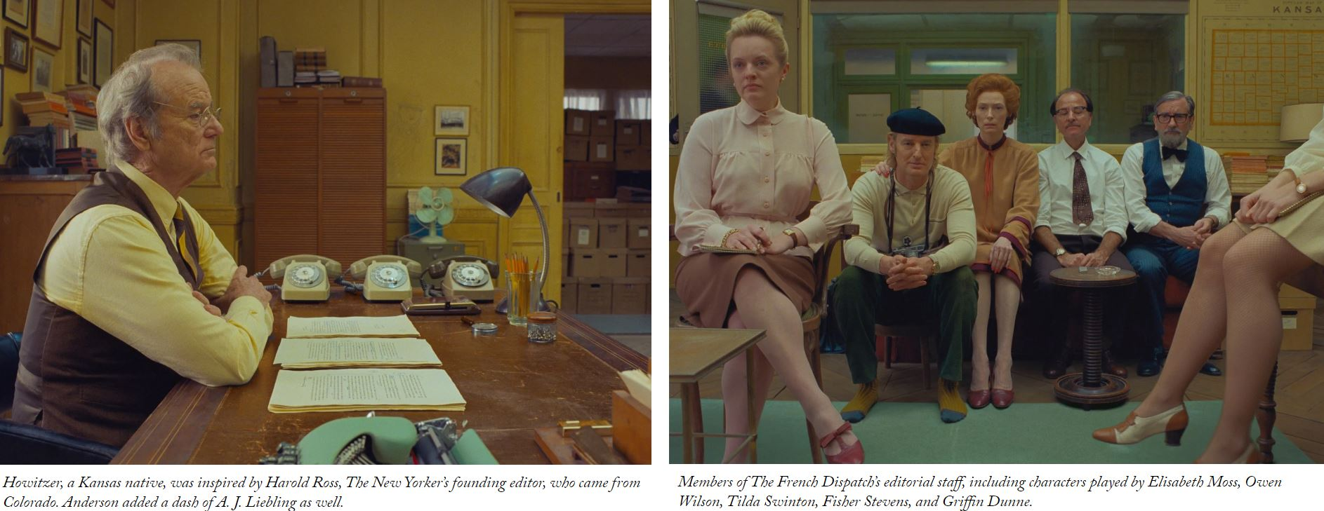 The French Dispatch of the Liberty, Kansas Evening Sun Movie Scenes From the New Yorker February 11 2020