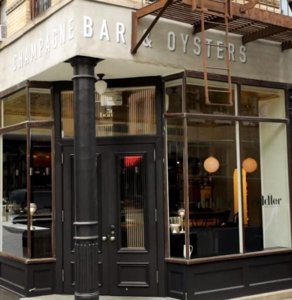 The Riddler Champagne Bar Outside New York City