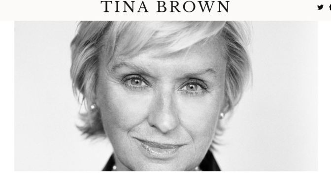 Interviews: 66-Year Old Editor And Journalist Tina Brown (NY Times)