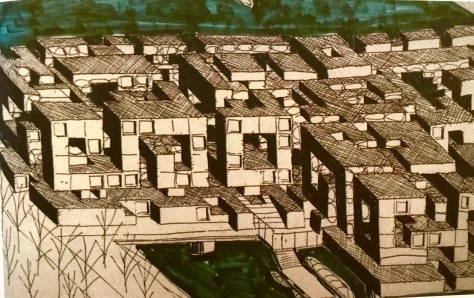 Yona Friedman Drawings