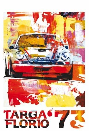 1973 Targa Florio Poster