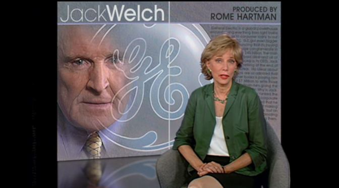 Tributes: 2001 Video Interview Of Former General Electric CEO –  Jack Welch (1935-2020)
