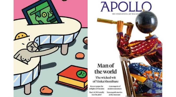 "Art Magazines: ""Apollo"" April 2020 Issue Released"