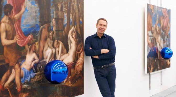 "Arts: 65-Year Old Artist Jeff Koons Headlines ""On Painting – Art Basel Online"" (David Zwirner)"