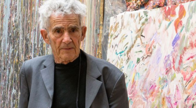 Profiles: 82-Year Old American Abstract Painter Larry Poons