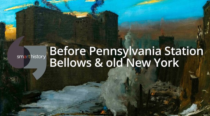 "Art: ""Before Pennsylvania Station"" By American Realist Painter George Bellows (1882-1925)"