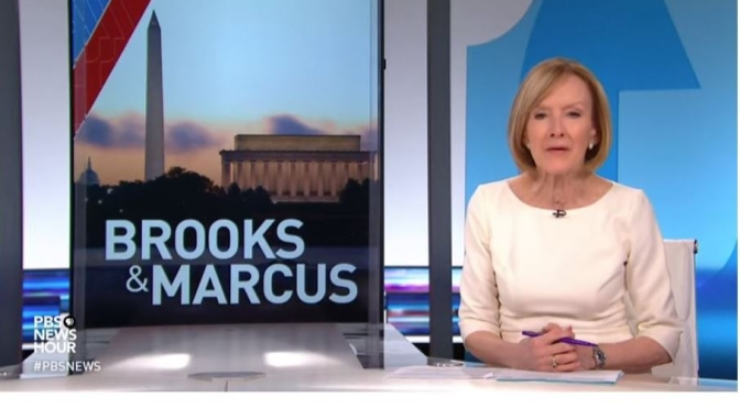 "Political News: ""Brooks & Marcus"" On $2.2 Trillion Economic Relief Package, Coronavirus Crisis (PBS)"