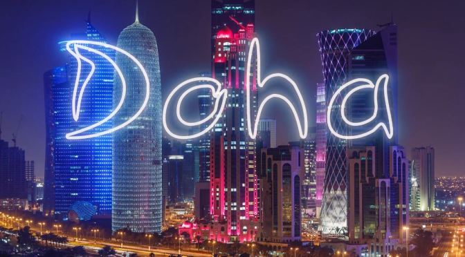 "Timelapse Travel Videos: ""Doha, Qatar"" On The Persian Gulf (March 2020)"