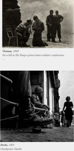 Don McCullin Vietnam and Berlin Photos from website