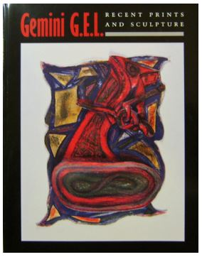 Gemini G.E.L. Recent Prints and Sculpture, author Charles Ritchie (with an introduction by Ruth E. Fine publisher National Gallery of Art, Washington DC.