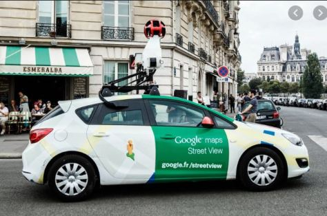 Google Maps Street View film car