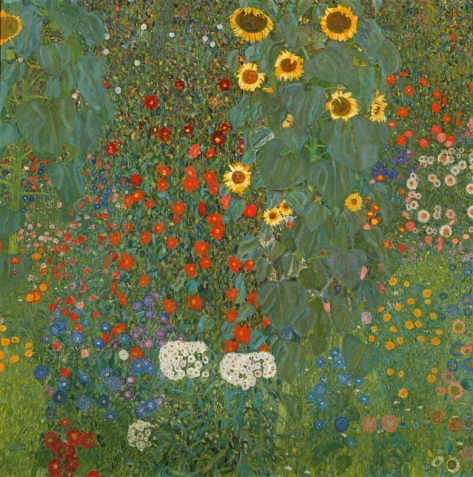 Gustav Klimt Farm Garden with Sunflowers 1905-06 Christie's Online Magazine