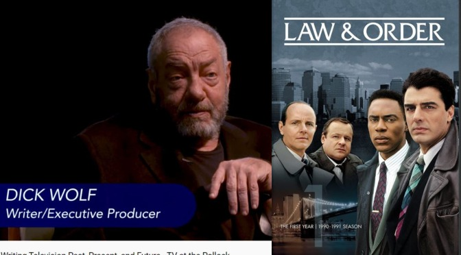 "Interviews: 73-Year Old TV Producer Dick Wolf, ""Law & Order"" Creator (Video)"