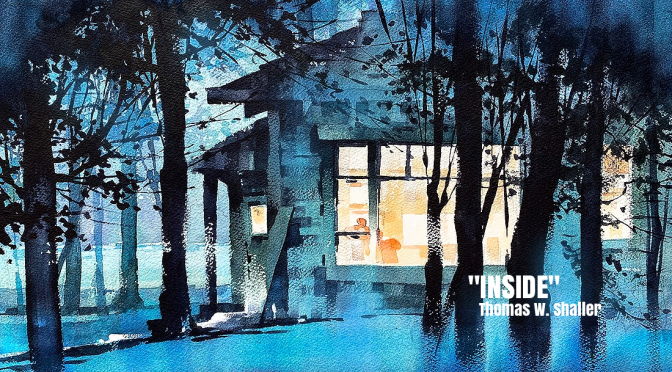 """Watercolor In March"": Artist Thomas W. Shaller Releases New Works (2020)"