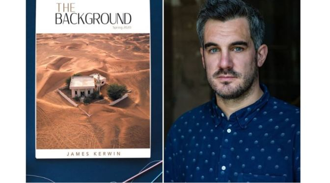 "Art Magazines: British Photographer James Kerwin Launches ""The Background"" (2020)"