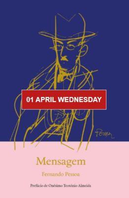 Livraria Lello Drive-Thru April 2020 Mensagem by Fernando Pessoa April 1 2020