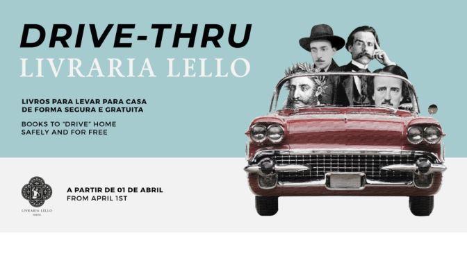 """Culture & Coronavirus: """"Livraria Lello"""" In Porto Opens World's First """"Drive-Thru Bookstore"""""""