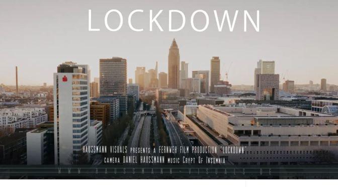 "New Aerial Travel Video: ""Lockdown"" In Frankfurt, Germany (March, 2020)"