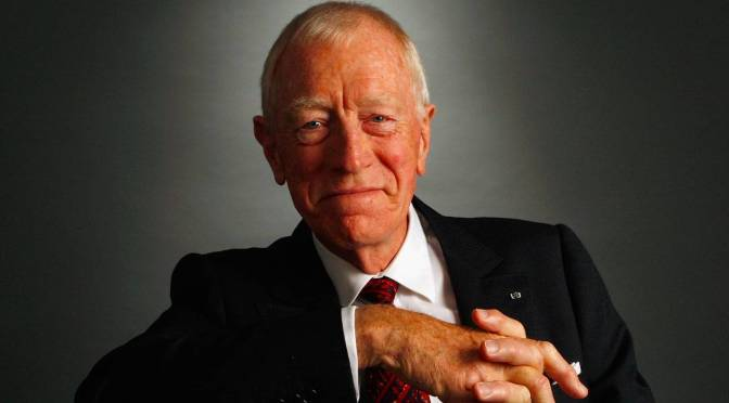 "Tributes: Swedish-Born French Actor Max Von Sydow Dies At 90 – ""The Exorcist"" & ""Star Wars"""