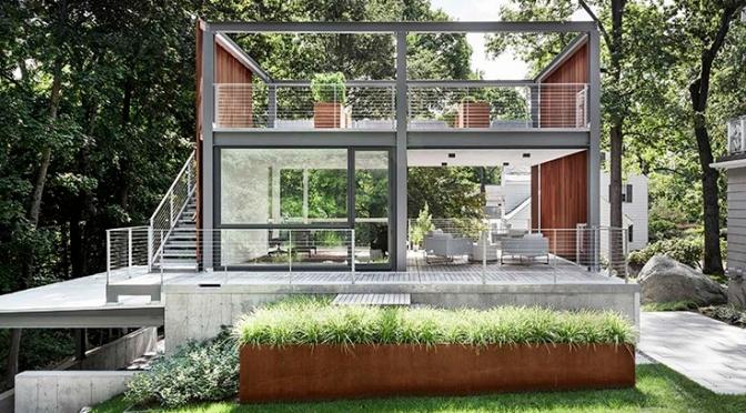 "Top Urban Architecture: ""Modern Lantern Studio"" By Flavin Architects (2020)"