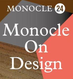 Monocle 24 On Design Logo