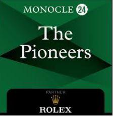 Monocle 24 Pioneers logo