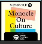 Monocle on Culture Monocle 24 logo