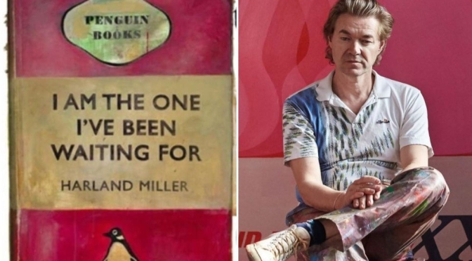 "Art & Humor Spotlight: 56-Year Old British Painter Harland Miller's ""Iconic Penguin Book Covers"""