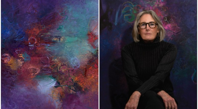Artist Profiles: 69-Year Old American Painter Sigrid Burton (Video)