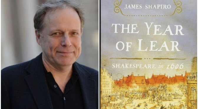 "New Literary Podcasts: Author James Shapiro On ""Shakespeare And Plagues"""
