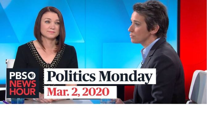 """Politics Monday"": Tamara Keith And Amy Walter On Joe Biden's Win (PBS)"