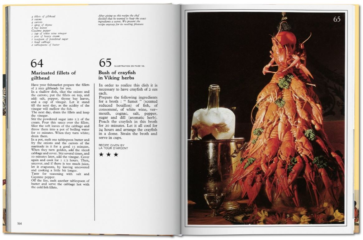 Salvador Dalí Les dîners de Gala cookbook Taschen book