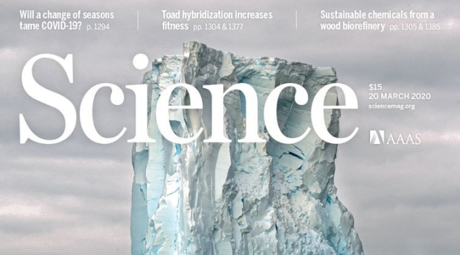 Top Journals: Research Highlights From Science Magazine (March 20, 2020)