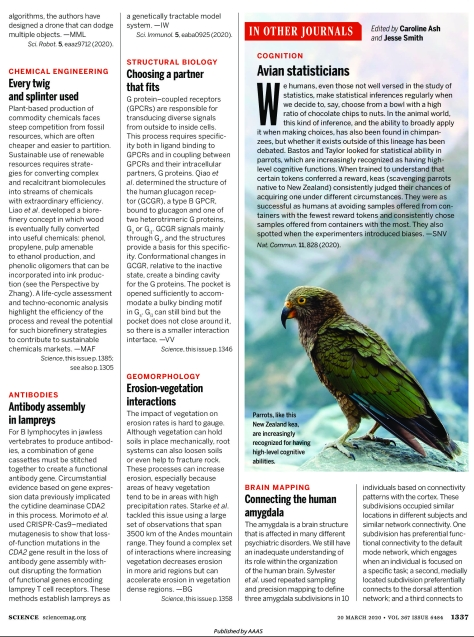 Science Magazine Journal March 20 2020 Research Highlights-page-1