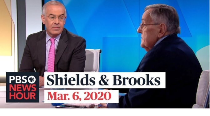 Politics: Mark Shields & David Brooks With 2020 Campaign Analysis  (PBS)