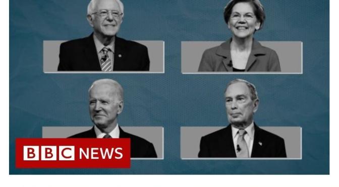 "Politics: Biden And Sanders Emerge As Favorites On ""Super Tuesday"" (BBC News)"