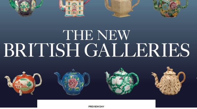 "New Exhibitions: ""The British Galleries"" Reopens At The Metropolitan Museum Of Art (Mar 2020)"