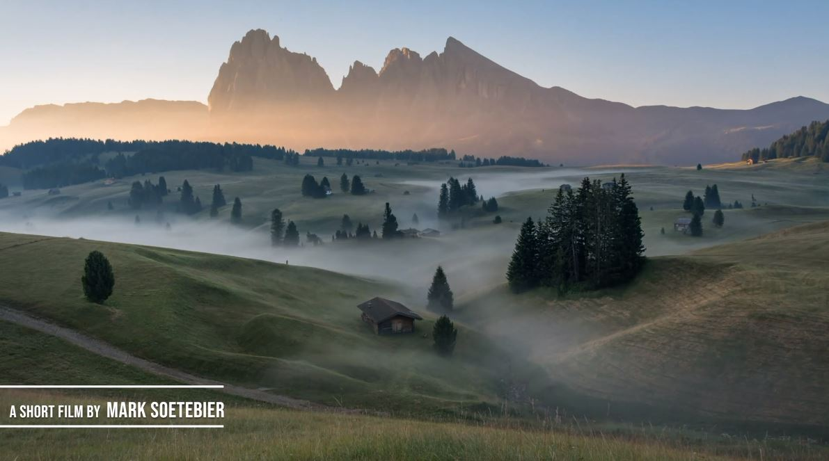 Top New Travel Video Dolomites Symphony 2020 produced by Mark Soetebier