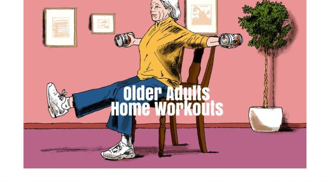 "Exercise: ""Shelter In Place"" Home Circuit Workouts For Older Adults (WSJ)"